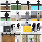 6FT 6.6FT 7FT 8FT Steel Sliding Door Track Barn  Wood Closet Hardware Set  Arrow