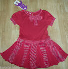 Beetlejuice girl dress 18-24-36 m 2-3 y BNWT red, dots, designer party