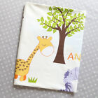 235cm*50cm Cartoon animal  cotton fabric kids baby bedding fabric quilt tecidos