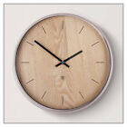 Umbra Madera Wall Clock -- in Natural or Walnut finishes -- by Umbra