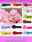 NEW BABY GIRL headband 0 to 10 year olds 12 Colours TULLE PINK FLOWER