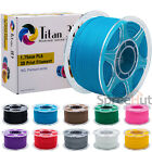 NEW Premium 3D Printer PLA Filament 1.75mm 1KG/2.2LB Spool Print Splicer Sealed