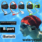 Swimming Bluetooth Headsets Headphone Wireless Sports Stereo Waterproof Earphone