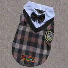 New Fashion Dog Uniforms Plaid Style Pretty Clothes Dog Apparel SIZE 2/3/4/5/6