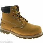 New Grafters Safety Industrial Tan Padded Leather Boots Steel Toe Goodyear