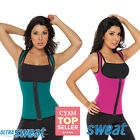 Chaleco Ultra Sweat Dama Miracle Neopreno Abdominal Fat Burner Vest Fajate 8002