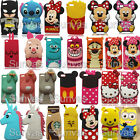 New 3D Cute Soft Silicone Case Mobile Phone Back Cover Skin For Huawei Phones