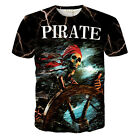 2016 New Mens Womens 3d Print Funny Cool Graphic Tee Casual Short Sleeve T-Shirt