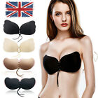 Silicone Self Adhesive Stick On Push Up Gel Strapless Invisible Bra Backless NEW