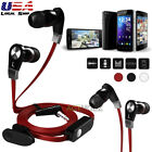In-ear 3.5mm Stereo Super Bass Headset Headphone Earphone For iPhone Samsung HTC