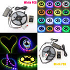 5M IP67 5050 RGB Dream Color 6803 IC 150LED Strip+RF Controller+Power Adapter