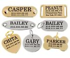 Dog ID Tag Personalized Custom Name Tags Engraving Nameplate