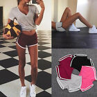 Summer Pants Womens Sports Shorts Gym Workout Waistband Skinny Yoga Short 4Color