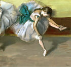 Edgar Degas Resting dancer canvas print giclee 8X8&12X12