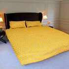 New Duvet Cover with Pillow Case Quilt Cover Bedding Set Double King 200 Thread
