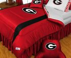 GEORGIA BULLDOGS Jersey Comforter Twin Full/Queen LR/SL