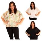 Beautiful Plus Size Batwing Gypsy Top Blouse 16-26