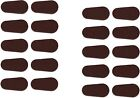 Adhesive Stick-on Foam Nose Pads For Glasses - Tear Drop Shape (20-400 Count)