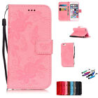 Flip Wallet Magnetic Zip Leather Cover Case for Apple iPhone iPhone 6 / 6s Plus