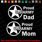 US ARMY Family/Dad/Mom/Parents Window/laptop Vinyl Decal Sticker Die-Cut AY007 $4.99 USD