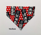 Betty Boop Biker Lips Hearts Over Collar Slide On Pet Dog Cat Bandana Scarf $4.5 USD on eBay