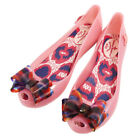 Vivienne + Melissa Shoes ULTRAGIRL RIBBON JELLY PINK Size 40 *Free Shipping*e519