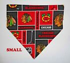 Chicago Blackhawks NHL Hockey Over Collar Slide On Pet Dog Cat Bandana Scarf $6.5 USD on eBay