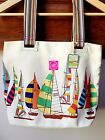 BNWT JOULES LADIES CANVAS HANDBAG TOTE HOLIDAY BAG SHOPPER
