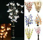 Handmade Flower Bouquet LED Lights Tree Branch Vase Fairy AUS PLUG Decor Wedding