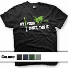 Yoda shirt - Star Wars - Jedi Master - funny Star Wars t-shirt $15.95 USD on eBay