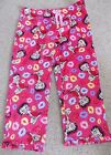 NEW WOMENS SIZE MEDIUM  PINK BETTY BOOP FLEECE SLEEP  PANTS 8-10 PAJAMA $12.0 USD