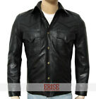 The Walking Dead Governor Real Leather Jacket  -  WITH 100% money Back guarantee