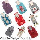 Large Hot Water Bottle With Soft Novelty Cover