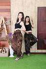 Peacock Eye Hippie Boho Genie Yoga Harem Pants Trousers Festival Costumes Pants