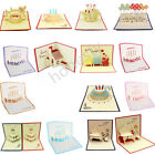 Kyпить 3D Luxury Handmade Pop Up Greeting Card Happy Birthday Blessing Lucky Gift на еВаy.соm