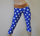 Wonder Woman SuperHero Starrs Capri Pant Bikram Hot Yoga SXYFITNESS XXS-XXL USA