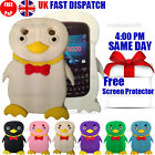 PENGUIN SILICONE GEL CASE & FREE SCREEN PROTECTOR Fits BlackBerry Curve 9320