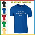INDEPENDENCE DAY 23 JUNE 2016 BREXIT T-SHIRT - Leave the EU Tee, VOTE OUT