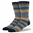 STANCE NEW Men's Sports Socks Blue Weaver BNWT
