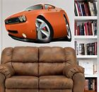 2010 Dodge Challenger SRT8 WALL GRAPHIC DECAL MAN CAVE ROOM GARAGE 6761