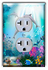 Dolphins Underwater Nautical Seal Light Switch Plate Cover HOME WALL DECOR