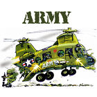 Helicopter Tshirts - Many Designs Available - Armed Forces Military Chopper