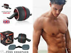 Ab Perfect Fitness Workout Exerciser Wheel Free Knee-pads Carver Pro Roller Core
