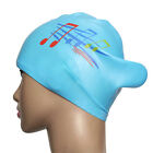 New Fashion Note Silicone Swimming Long Hair Cap Ear Wrap Waterproof Hat