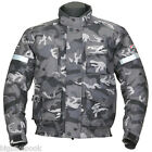 Spada CAMO Textile motorcycle Jacket Black