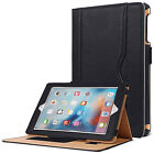 Luxury Magnetic Leather Wallet Smart Flip Case Cover For Apple iPad 2 3 4 Mini