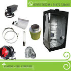 New Full Complete Hydroponic Grow Room Tent Fan Filter Light Kit 120x120x200cm