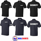 NEW Men SECURITY Polo T-Shirt Event Bouncer Staff Short Sleeve Guard Police Tees
