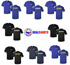 Security tees & Staff tees Event BouncerCotton t-shirts all sizesBlackRoyalNavy