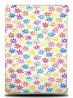 RAINBOW FLORAL PATTERN HARD BACK CASE COVER FOR APPLE iPAD AIR 1 / 2